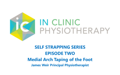 Heel Pain DIY Strapping